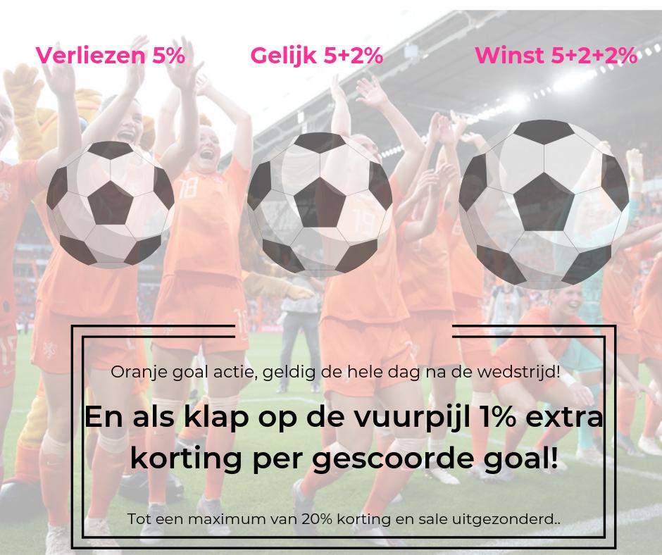 spelregels Oranje Goal Actie bij Naron