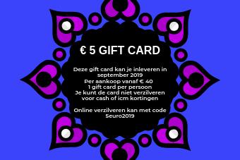 €5 giftcard naron