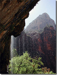 Weeping Rock - Zion & Bryce Canyon
