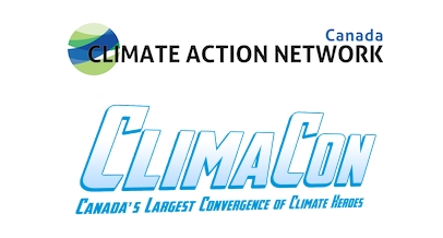 Climate Action Network and ClimaCon logos