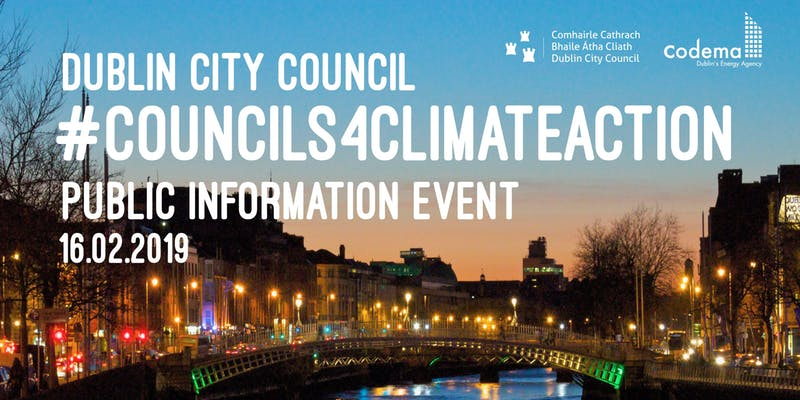 Dublin city council public information event