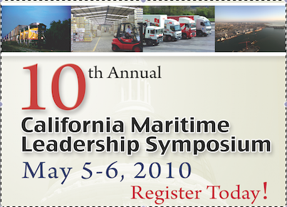 CA Maritime Leadership Symposium (May 5-6)