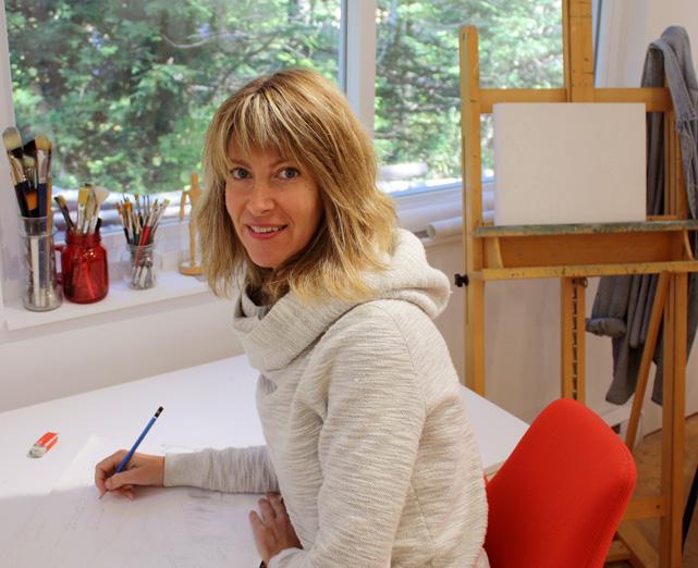 Manon Potvin - Artiste peintre et                                   auteure