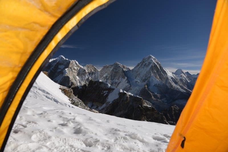 From summit of Lobuche