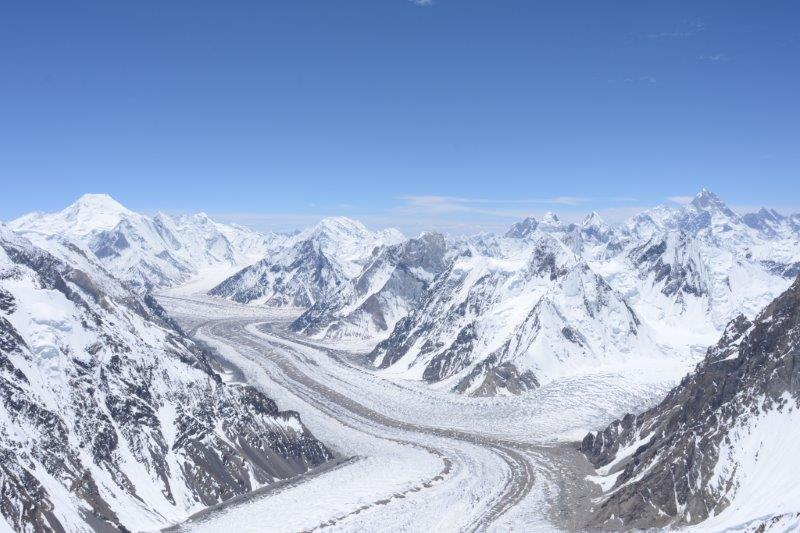 View from  Camp  2 on K2