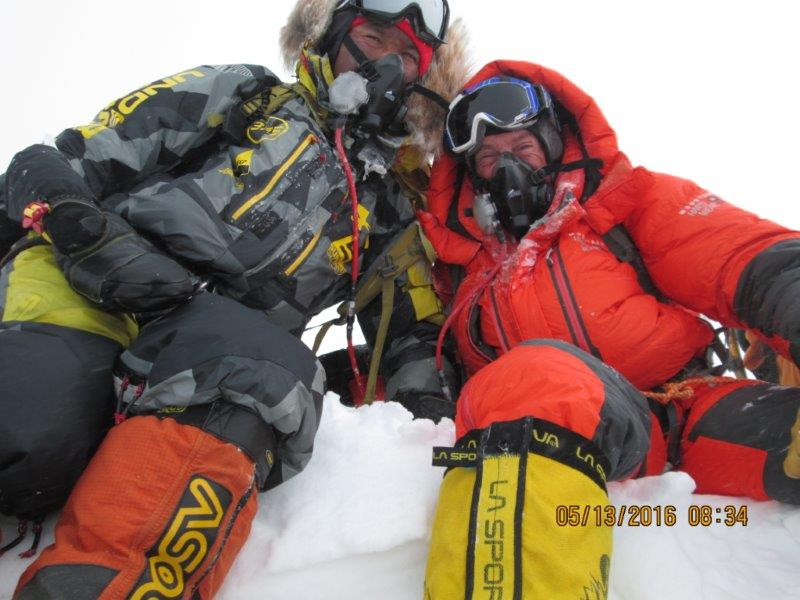 Greg, Narwang on summit