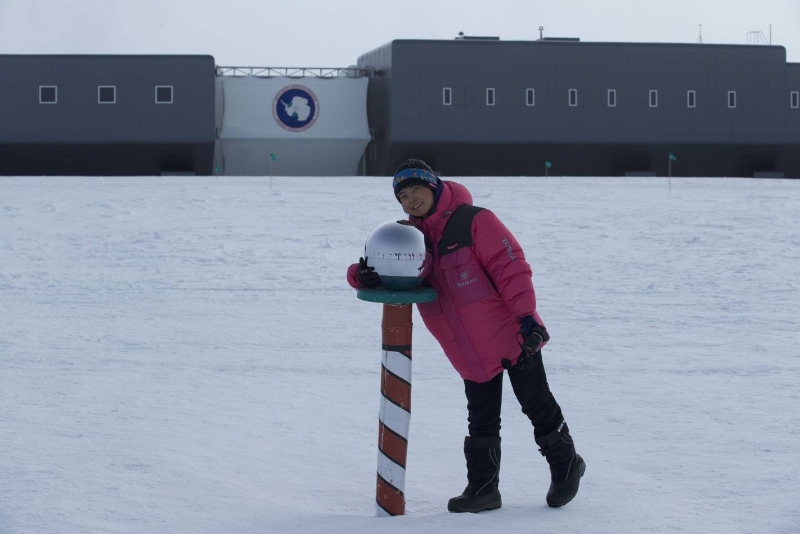 Jing at south pole