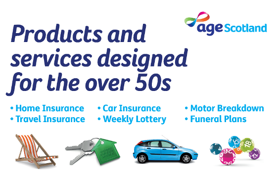 Age Scotland Enterprises products and services designed for the over 50s image