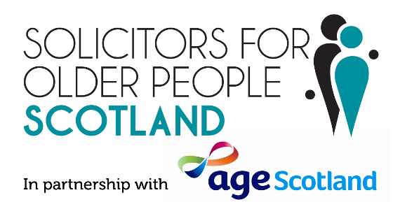 Solicitors for Older People Scotland (with Age Scotland) Logo