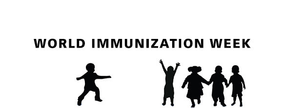 World Immunization Week - top portion
