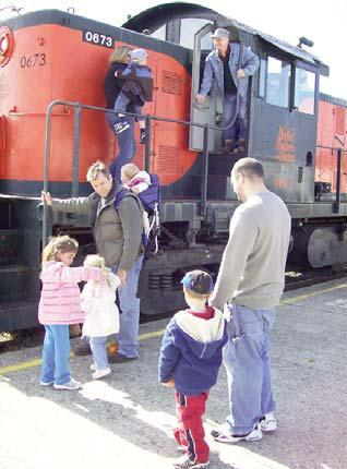 Ride a vintage train to our pumpkin patch! 3 Weekends in October.