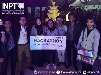 1er Prix Hackathon Smart Campus 2019 - INPT