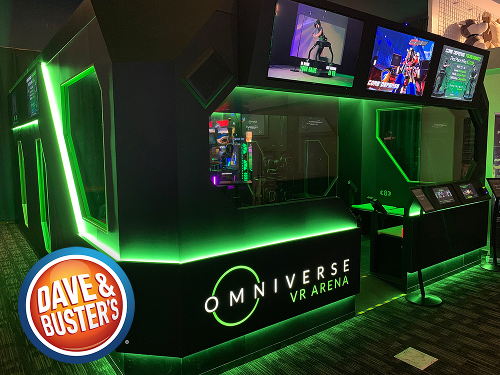 Dave and Buster's Omni Arena