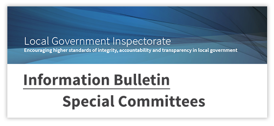 special committees bulletin