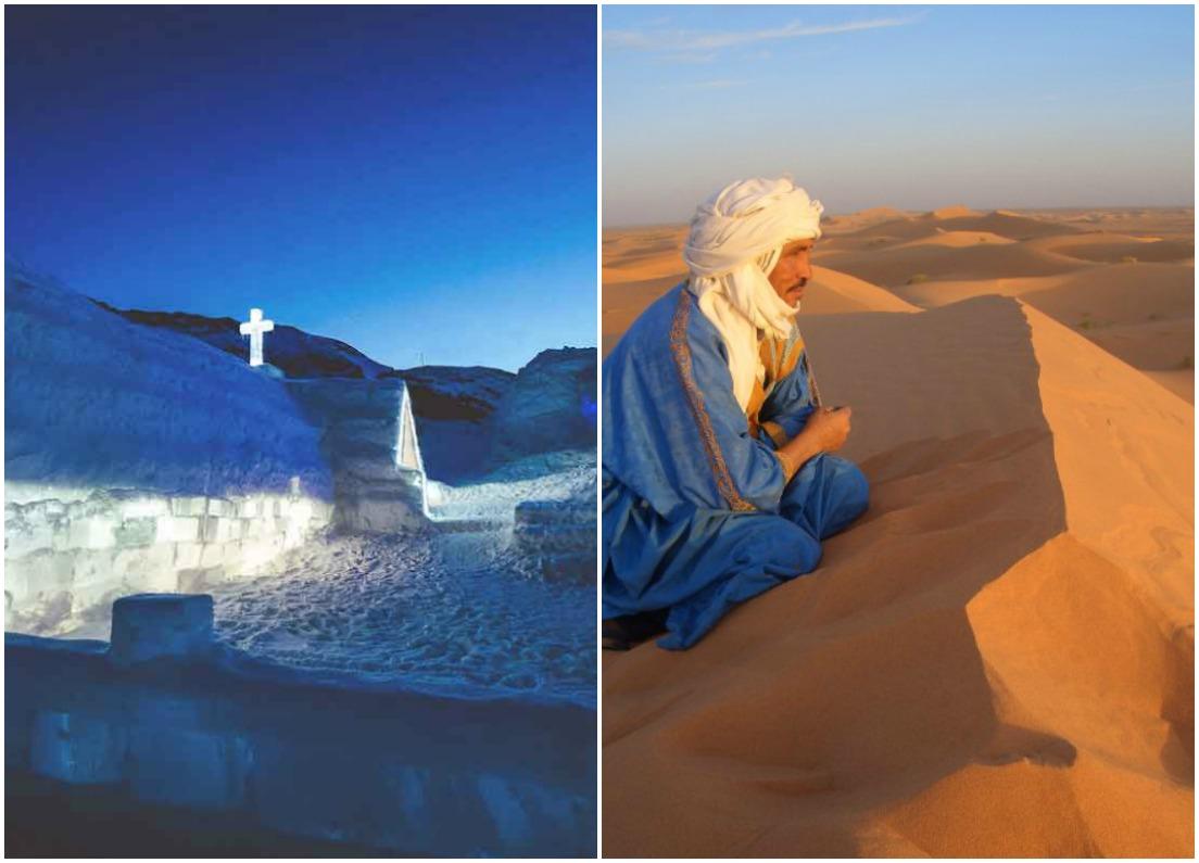 Ice Hotel & Sahara Desert