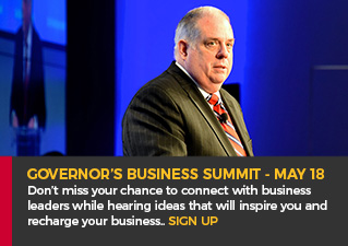 Governor's Business Summit - May 18. Don't miss your chance to connect with business leaders while hearing ideas that will inspire you and recharge your business. Sign Up