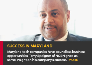 Success in MD - Maryland tech companies have boundless business opportunities. Terry Speigner of NGEN gives us some insight on his company's success. MORE