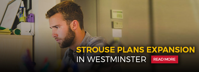 Strouse plans expansion in Westminster - Read more.