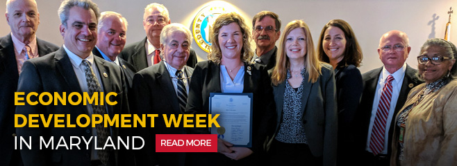 Economic Development Week in Maryland. Read More.