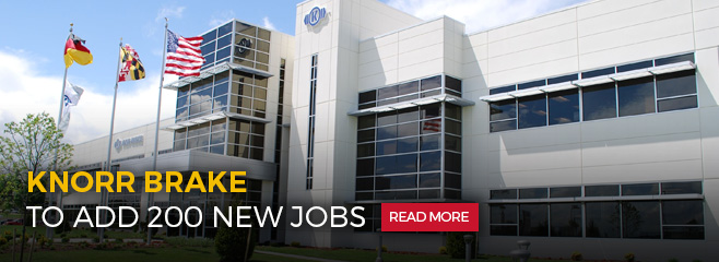 Knorr Brake to add 200 new jobs. Read more.