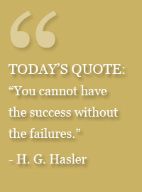 H.G. Hasler Quote