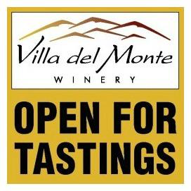 Villa del Monte Wine Tastings