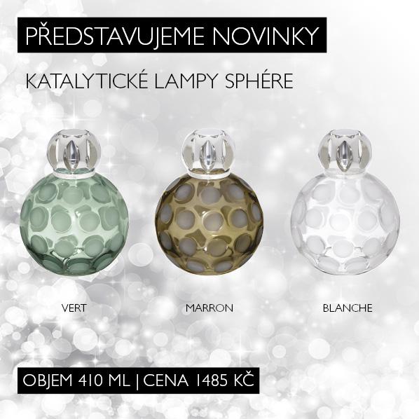 Představujeme novinky: katalytické lampy Sphére