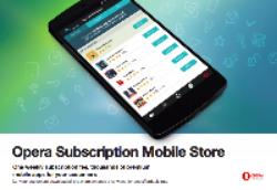 Opera Subscription Mobile Store