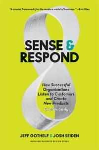 Sense & Respond book cover