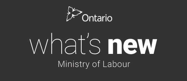 What's New - Ministry of Labour