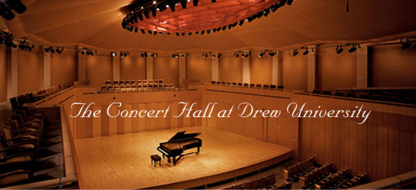 The Concert Hall at Drew University