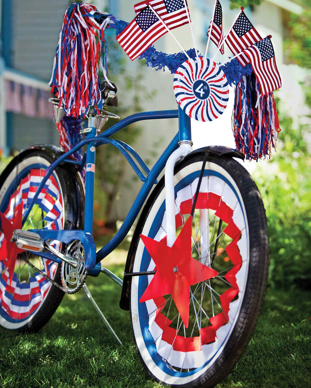 Decorated bike