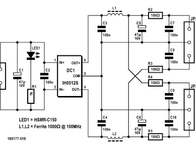 Differential Probe Power Supply