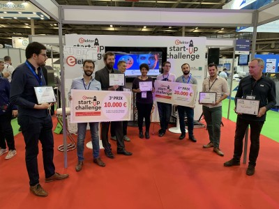 UniSwarm Wins the Grand Prize at the Elektor Start-up Challenge in Paris