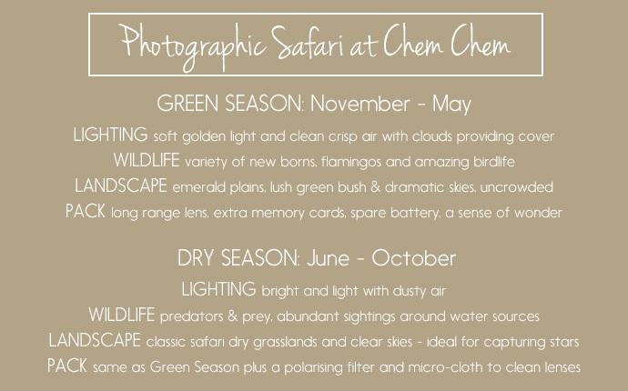 Photography tips for safari at Chem Chem