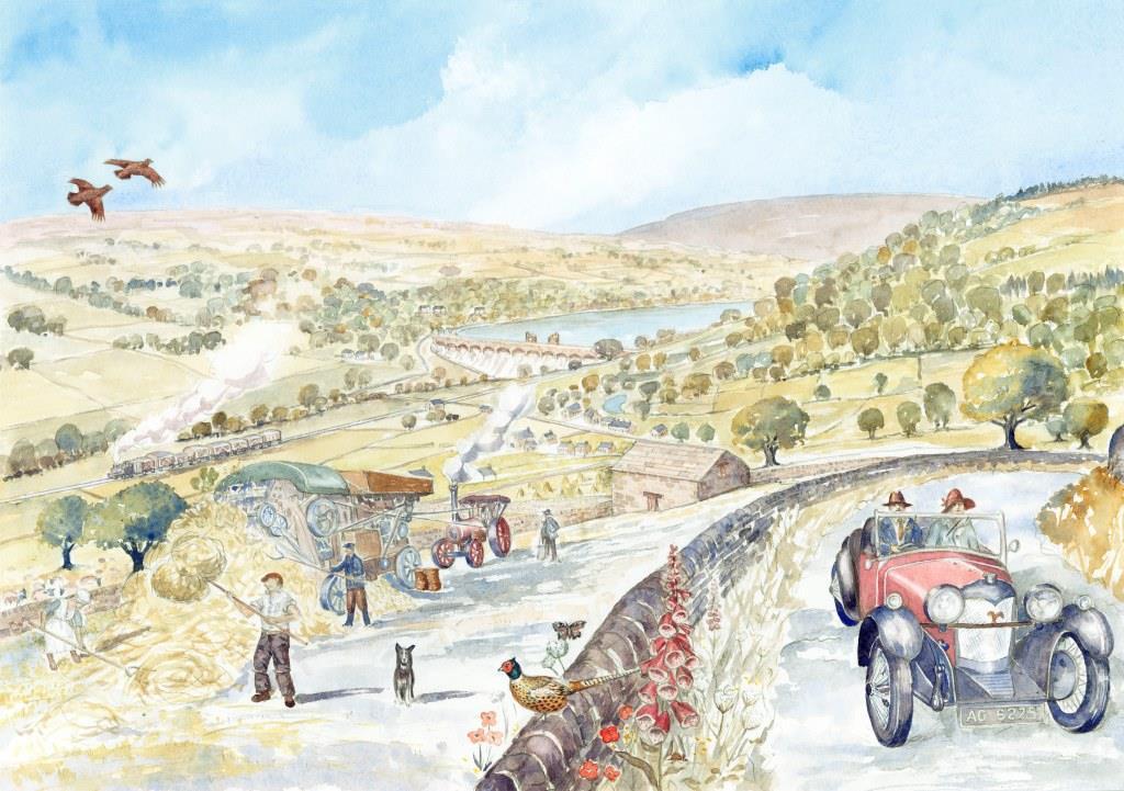 Historical illustration of Nidderdale