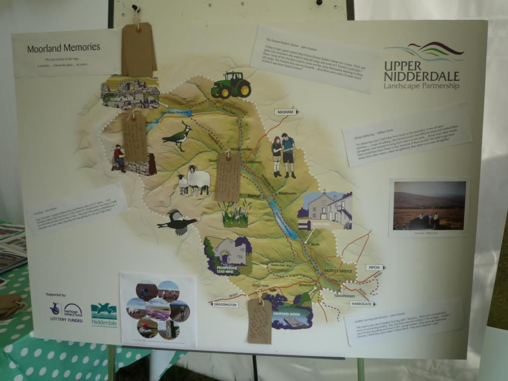 Map of Upper Nidderdale