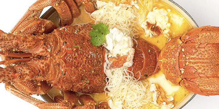 Coco-Lobo (Lobster Vermicelli) from Palm Beach Seafood Restaurant in One Fullerton, Singapore
