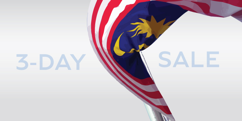 3-Day Merdeka Sale!