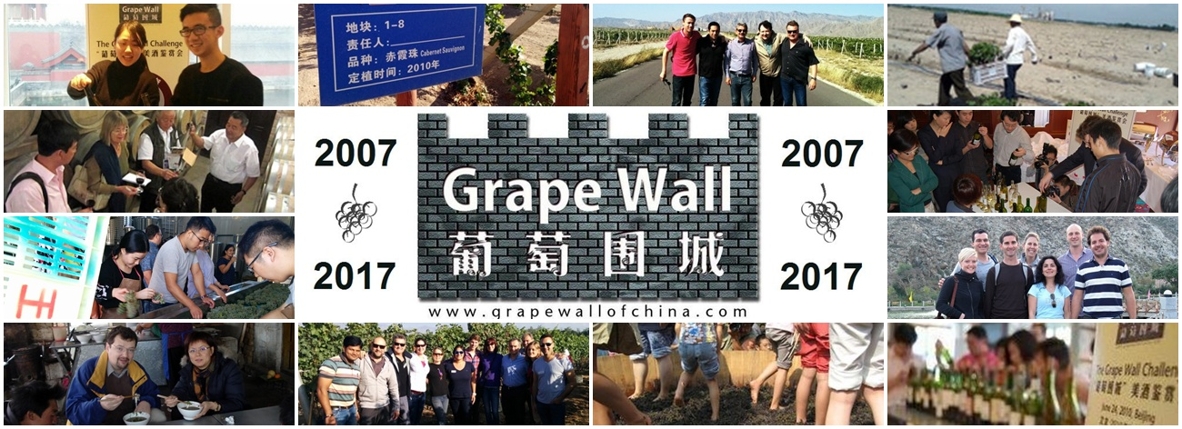 Grape Wall of China Newsletter Banner