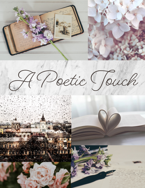A Poetic Touch Moodboard Tall