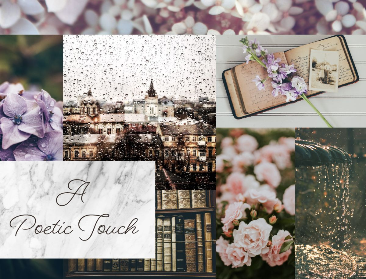 A Poetic Touch Moodboard