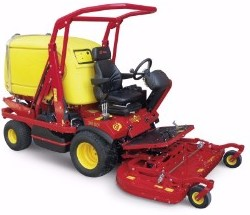 Gianni Ferrari Turbo 1 2WD powered by Kubota 28HP Diesel and fitted with 1100 Litre Grass Collection 52 Inch Cutting Deck