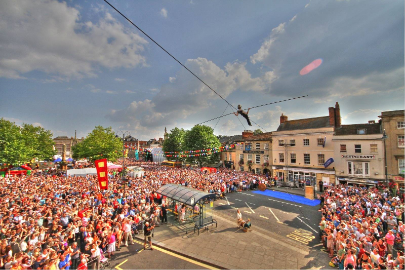 Devizes International Street Festival, Wiltshire