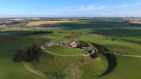 Old Sarum - View from the Air