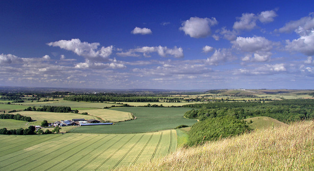 View from Cley Hill