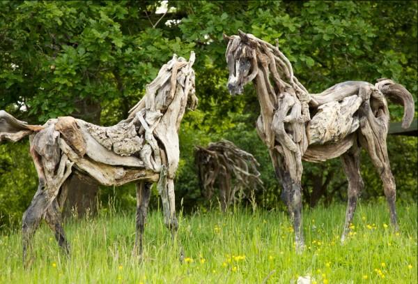 Exhibition of Contemporary Sculpture, West Lavington Manor