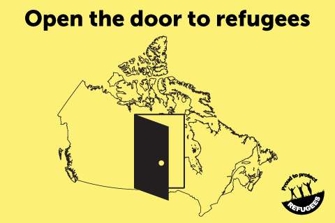 Open the door to Syrian refugees