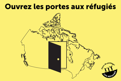 Ouvrez les portes aux réfugiés syriens