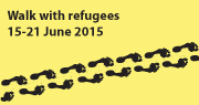 Walk with refugees